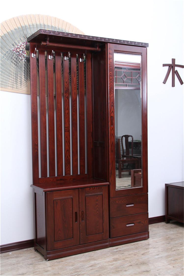 高档实木门厅柜
