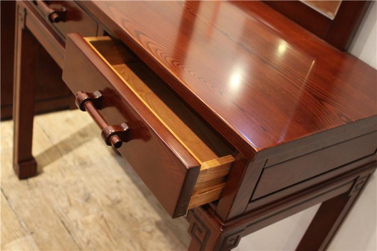 我们的家具全部都是整体框架卯榫结构