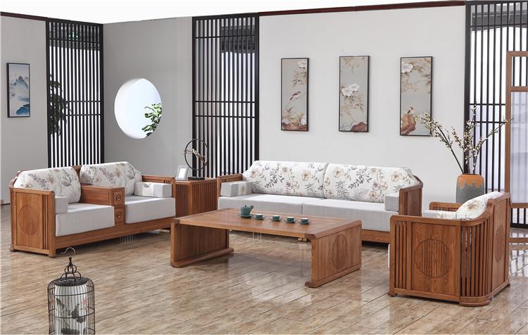 购买现代新中式家具先来木言木语看看新中式沙发